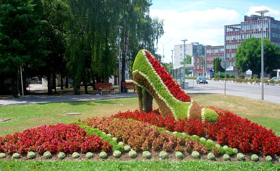 Kvetinová topánka 44a6dac20b2