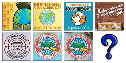 Suveníry Medzinárodného dňa geocachingu