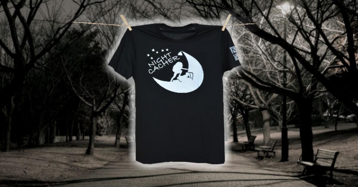 Tričko na nočný geocaching