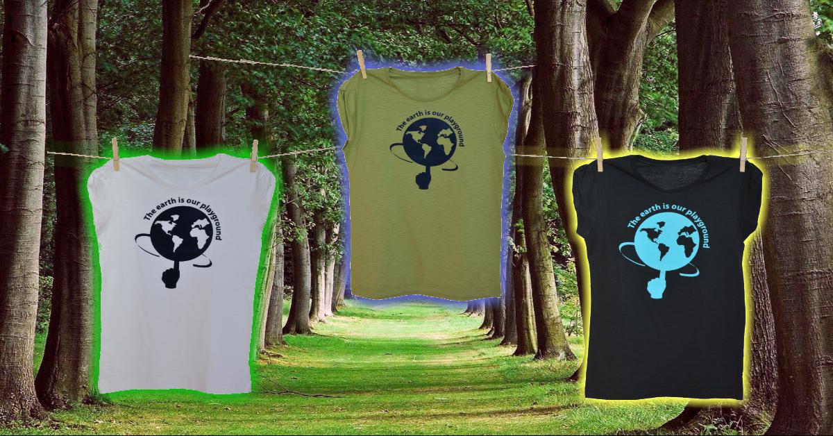 Tričko Earth is our playground