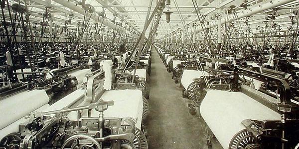 Textilná továreň kedysi