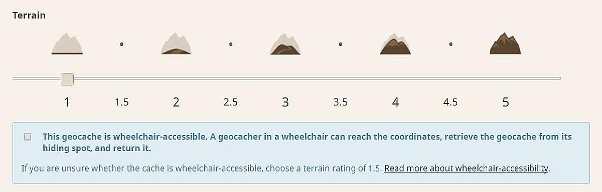 Upozornenie na atribút vozíčkara pri jednotkovom teréne