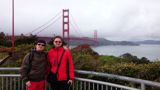 Soilworker a Sprievodca pri Golden Gate Bridge