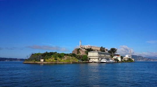 Bývalá väznica na ostrove Alcatraz