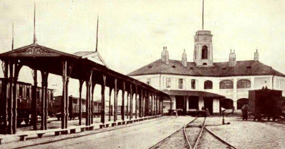 Horse-drawn Railway - Bratislava Station