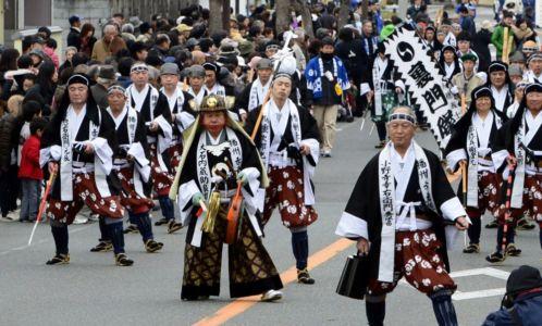 Festival Ako Gishi-sai: Spomienka na boj 47 roninov sa koná každoročne 14. decembra | Zdroj: Moogry.com