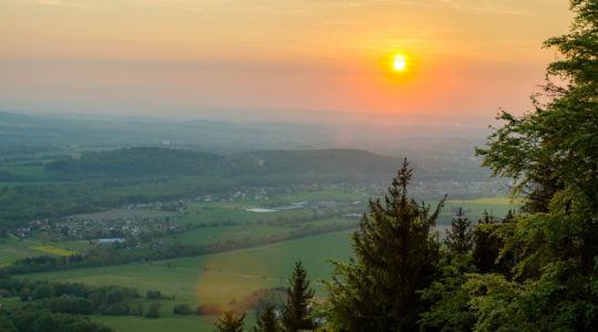 Západ slunce z Prašivé | Autor: Lienka86