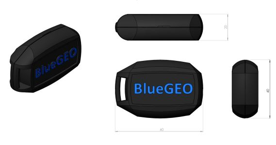 Rozměry přístroje BlueGEO