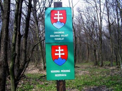 Označenie chráneného územia