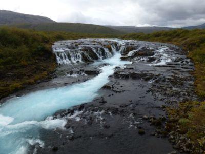 Vodopád Brúarárfoss
