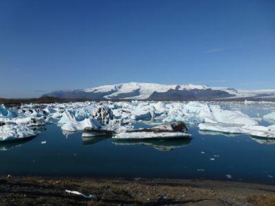 Ľadovcová lagúna Jökulsárlón