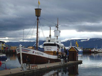 Prístav v Húsavíku