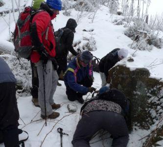 Zima v spoločnosti kešerov