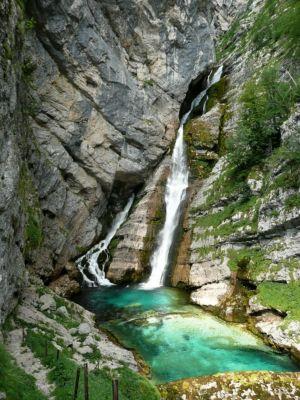 Vodopád Savica (Slovinsko)