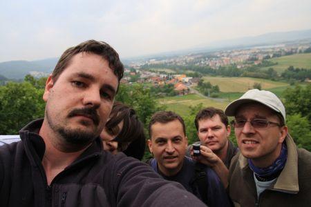 Selfie na Valašskom keškobraní 2009