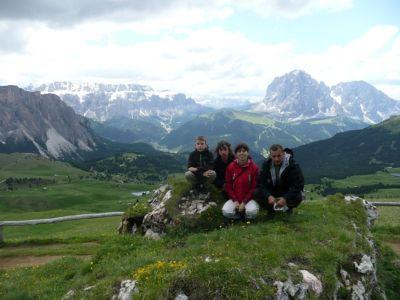 Najvyššie nájdená keška, vrch Secëda (Taliansko)