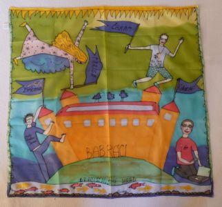 Vlajka tímu Babráci od Paris Miltonovej