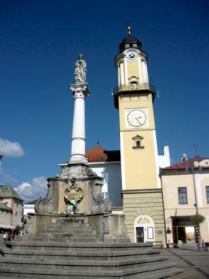 Hodinová veža na námestí, Banská Bystrica