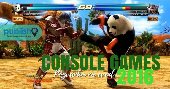 Pozvánka na event: Console Games 2016