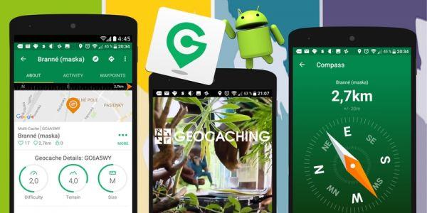 Aplikácia Geocaching®