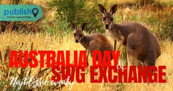 Najbližšie eventy: Australia Day & SWG Exchange