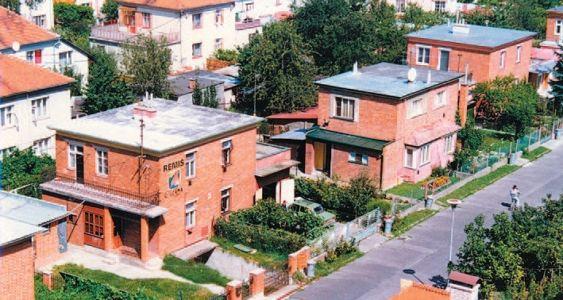 Baťove domy