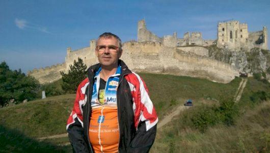 lafin pred Beckovským hradom