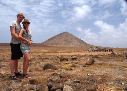 Autori článku henk&majk na Cape Verde