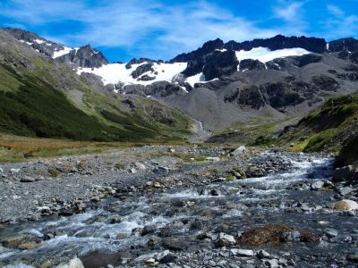Cesta ku Glaciar Martial
