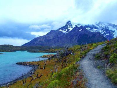 Cesta popri Lago Nordeskjold