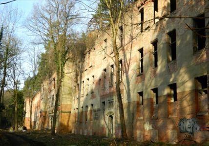 Pavilóny sanatória Beelitz-Heilstätten