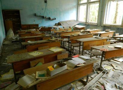 Narychlo opuštěná základní škola