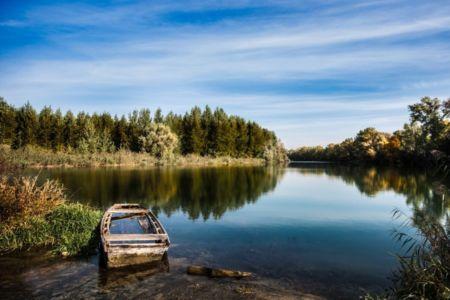 Krásny modrý Dunaj