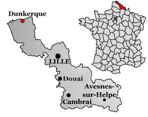 Dunkuerque-map