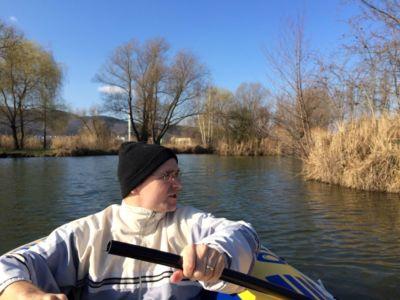 Februárové FTF na jazere