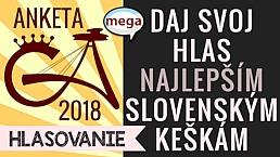 GeoAwards 2018 Hlasovanie