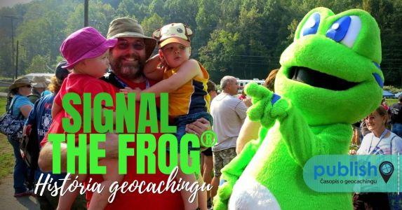 História geocachingu: V zelenej koži Signála