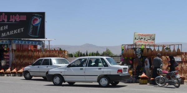 Taxíkmi cez Irán