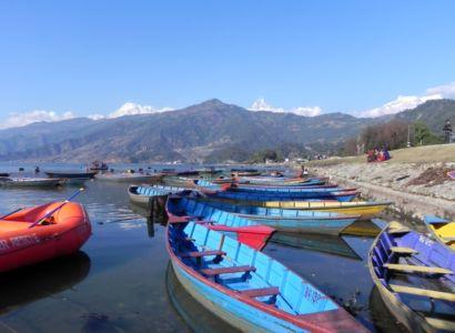 Jazero Phewa Tal, Pokhara