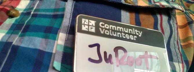Hrdý dobrovoľník