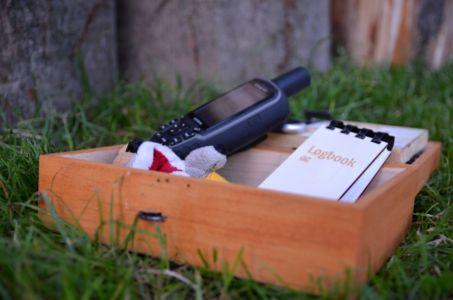 Udržiavaná keška a suchý logbook