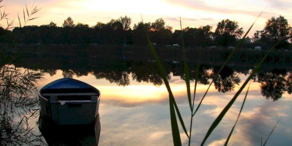 Prekrásne zákutia starých ramien rieky Labe