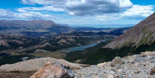 Lago de Los Tres z vyhliadky