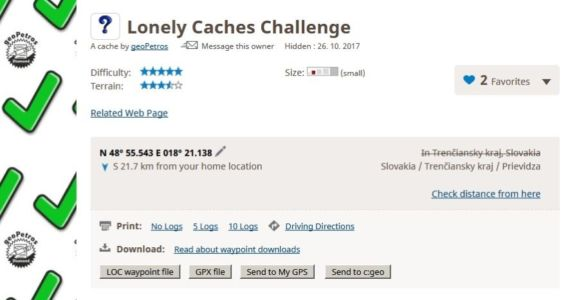 Lonely Caches Challenge