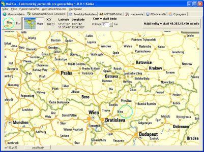 MoZiGo mapa