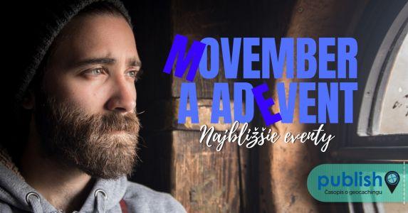 Najbližšie eventy: Movember a adEvent