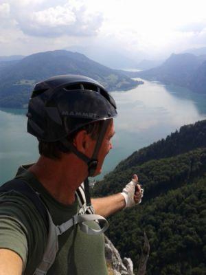 Na ferratách v Rakúsku: Drachenwand