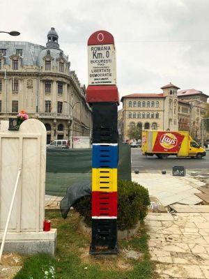 Nultý kilometrovník v Bukurešti