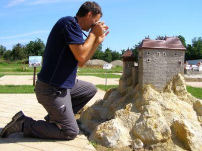 Podolie: Park miniatúr a keška Matúšovo Kráľovstvo od JurajH