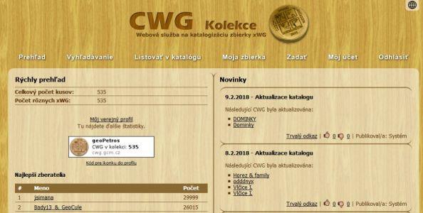 CWG-kolekce-prehlad